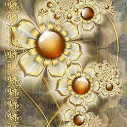Пазл онлайн: Цветочный вальс