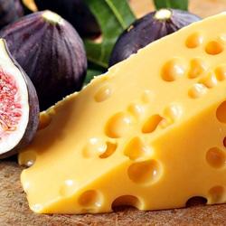 Пазл онлайн: Инжир и сыр