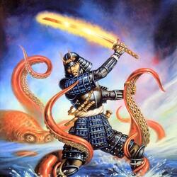 Пазл онлайн: Меч самурая