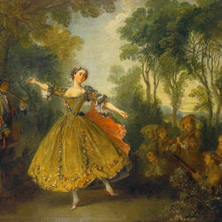 Пазл онлайн: Танцовщица