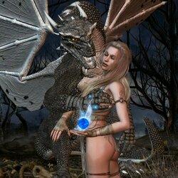 Пазл онлайн: Под властью драконьих чар