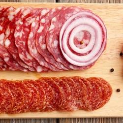 Пазл онлайн: Колбаска