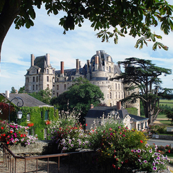 Пазл онлайн: Вид на замок Бриссак