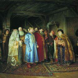 Пазл онлайн: Боярская свадьба