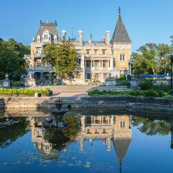 Пазл онлайн: Дворец Александра III в Массандре