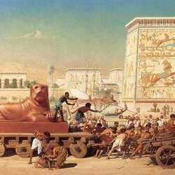 Пазл онлайн: Израиль в Египте