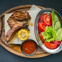 Пазл онлайн: Жареное мясо