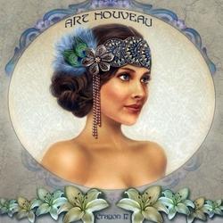 Пазл онлайн: Портрет Лилии