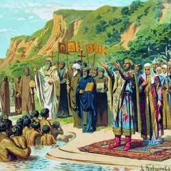 Пазл онлайн: Крещение