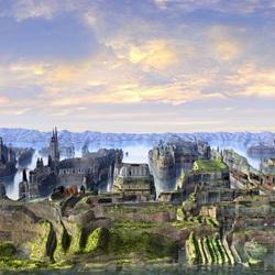 Пазл онлайн: Разрушенный город