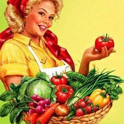 Пазл онлайн: Урожай