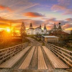 Пазл онлайн: Ферапонтов монастырь