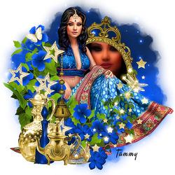 Пазл онлайн: Принцесса Востока