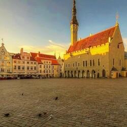 Пазл онлайн: Утренний Таллин