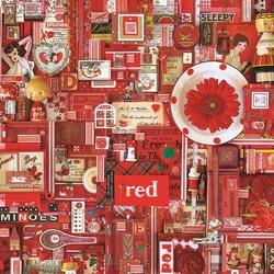 Пазл онлайн: Красный