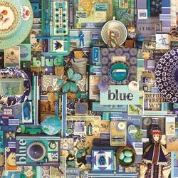 Пазл онлайн: Синий