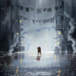 Пазл онлайн: Танец между каплями дождя