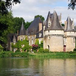 Пазл онлайн: Замок дю Мулен