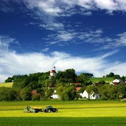Пазл онлайн: Сельхозработы