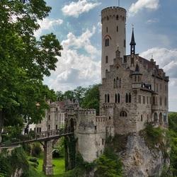 Пазл онлайн: Лихтенштейн