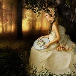 Пазл онлайн: Принцесса эльфов