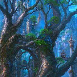 Пазл онлайн: Город драконов