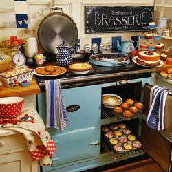 Пазл онлайн: Бабушкина кухня