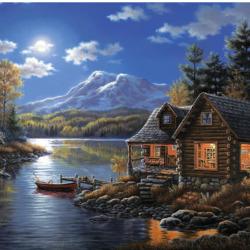 Пазл онлайн: Сказочный пейзаж