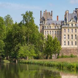 Пазл онлайн: Замок Бриссак