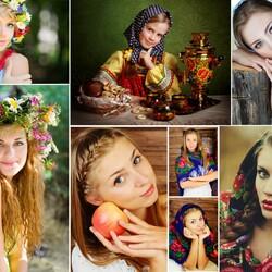 Пазл онлайн: Женщины России