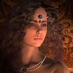 Пазл онлайн: Тисульская принцесса