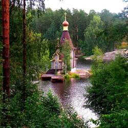 Пазл онлайн: Храм Апостола Андрея Первозванного