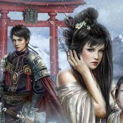 Пазл онлайн: Beyond the Torii / После Тори