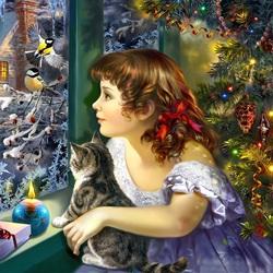 Пазл онлайн: Волшебство Рождества