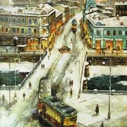 Пазл онлайн: Москва. Пятницкая
