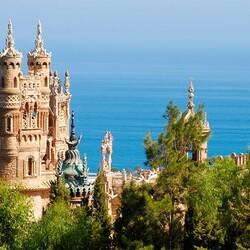 Пазл онлайн: Замок Коломарес