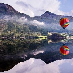Пазл онлайн: Зеркальное отражение