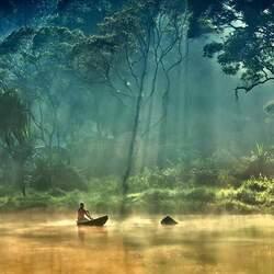 Пазл онлайн: Красота Амазонки