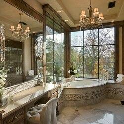 Пазл онлайн: Интерьер ванной комнаты