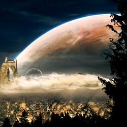 Пазл онлайн: Космические пейзажи