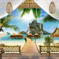 Пазл онлайн: Райские острова