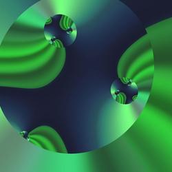 Пазл онлайн: Зелёный