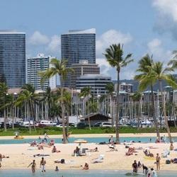 Пазл онлайн: Городской пляж