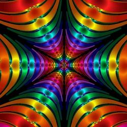 Пазл онлайн: Цветные трубочки