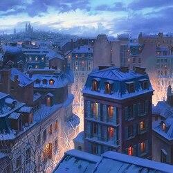 Пазл онлайн: Крыши Парижа