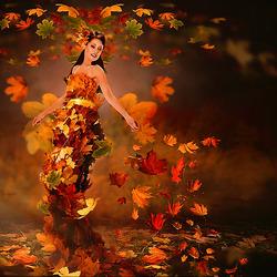 Пазл онлайн: Любимая осень