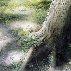 Пазл онлайн: Ствол дерева