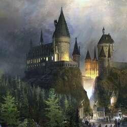 Пазл онлайн: Замок на горе