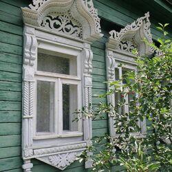 Пазл онлайн: Деревянное кружево русских домов
