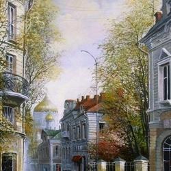 Пазл онлайн: Гагаринский переулок